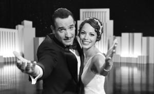 George Valentin (Jean Dujardin) and Peppy Miller (Bérénice Bejo)