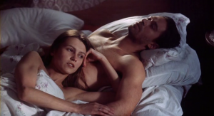 Katya (Ingeborga Dapunaite) and Sergei (Vladimir Mashkov) in bed