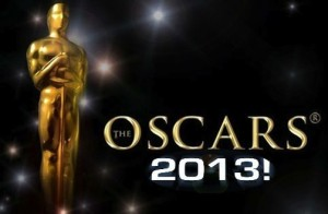 The 2013 Oscars logo.