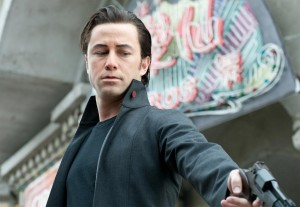 'Killing is my business - and business is good': Joe Simmons (Joseph Gordon-Levitt) in his element.