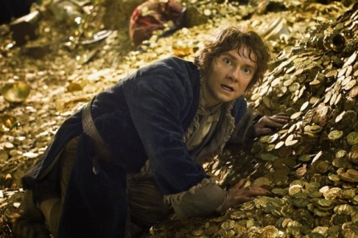 Bilbo Baggins (Martin Freeman) is scored of the prospects.