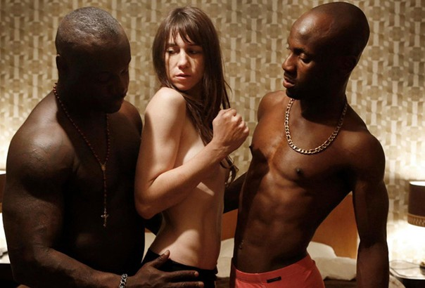 Joe (Charlotte Gainsbourg, center) tries to revive her sex life.