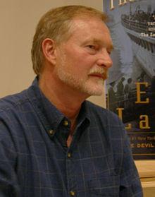 Author Erik Larson.