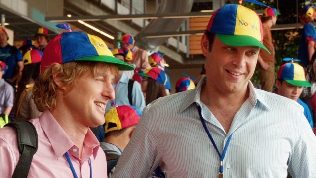 Nick Campbell (Owen Wilson, left) and Billy McMahon (Vince Vaughn, right) pursue their Mountain View dream.
